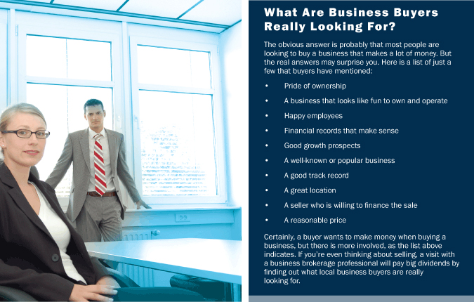 What Are Business Buyers Really Looking For?